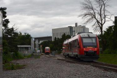 O-Train Trillium Line Carleton Siding Image