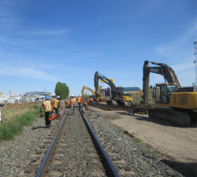 CN Spruce Grove to Carvel Double Track Image
