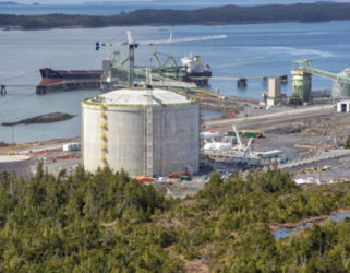 Ridley island propane export terminal expansion Image